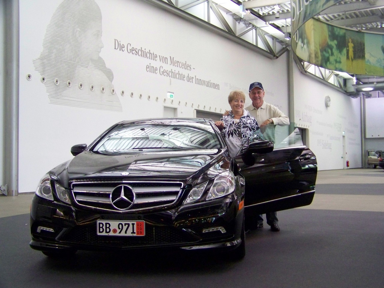 Delivery center mercedes benz of austin european for Mercedes benz european delivery