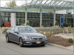 2010 E63 AMG outside the Mercedes-Benz Delivery Center in Germany