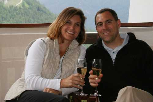 Stuart  and Erika Rorer in Germany